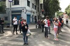 Hàng chục người thương vong sau trận động đất mạnh ở Mexico