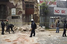 Cảnh báo sóng thần sau trận động đất có độ lớn 7,4 tại Mexico