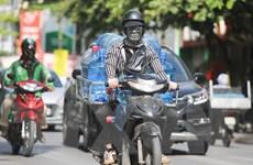 Khu vực Hà Nội nắng nóng với nền nhiệt cao nhất 40 độ C