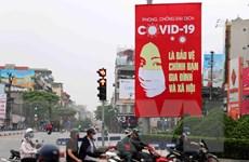 'Tranh cổ động - vũ khí góp phần giúp Việt Nam chiến thắng COVID-19'