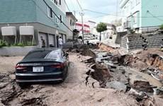 Nhật Bản tăng cường khả năng ứng phó với thảm họa do thiên tai