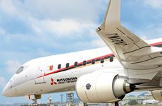 Mitsubishi Aircraft Corp. thua lỗ kỷ lục trong tài khóa 2019