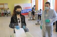 Nga công bố kết quả kiểm 100% số phiếu sửa đổi Hiến pháp