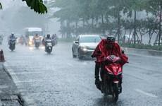 Các khu vực trên cả nước có mưa và dông, đề phòng thời tiết nguy hiểm