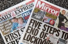 Báo in ở Anh lao đao do ảnh hưởng bởi đại dịch COVID-19