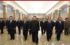 Nhà lãnh đạo Triều Tiên viếng lăng cố Chủ tịch Kim Il-sung