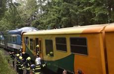 Séc: Hai tàu hỏa đâm nhau, khiến hàng chục người thương vong