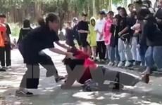 Công an vào cuộc làm rõ hành vi vô cớ đánh nữ sinh 16 tuổi