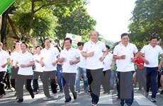 TP.HCM: 30.000 người tham gia Ngày chạy Olympic vì sức khỏe toàn dân