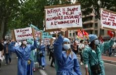 Pháp: Biểu tình phản đối chính sách y tế của chính phủ