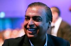 Tỷ phú giàu nhất Ấn Độ đánh cược vào thị trường thương mại điện tử