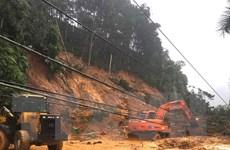 Hà Giang: Sạt lở đất khiến Quốc lộ 2 bị chia cắt hoàn toàn