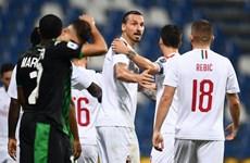 Ibrahimovic lập cú đúp, AC Milan giành vé tham dự Europa League