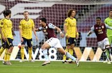Man City và Arsenal 'trợ giúp,' Aston Villa có hy vọng trụ hạng