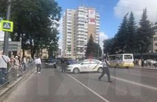 Cảnh sát Ukraine giải cứu toàn bộ con tin bị bắt trên xe khách
