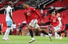 'Gà son' Greenwood ghi bàn đưa Manchester United lên tốp 3