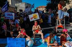Israel: Biểu tình phản đối cách ứng phó COVID-19 của chính phủ