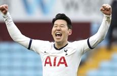 Son Heung-min giành giải Bàn thắng đẹp nhất Premier League
