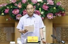 Thủ tướng chủ trì họp cơ cấu lại hệ thống các tổ chức tín dụng