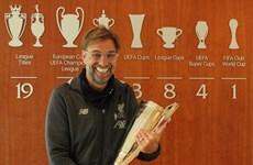 Juergen Klopp giành giải Huấn luyện viên hay nhất Premier League