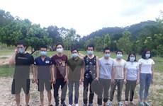 Quảng Ninh bắt 16 đối tượng nhập cảnh trái phép, đưa đi cách ly