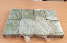 Điện Biên: Công an bắt giữ đối tượng mua bán 8 bánh heroin