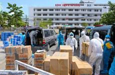 Doanh nghiệp TP.HCM cung ứng hàng hóa cho các bệnh viện tại Đà Nẵng
