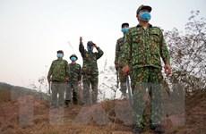 Lực lượng Quân đội kiên quyết ngăn chặn nhập cảnh trái phép
