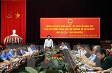 'Điện Biên cần đánh thức các thế mạnh nền tảng để phát triển'