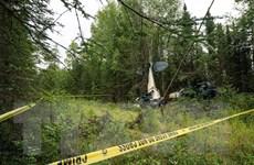 Hiện trường vụ tai nạn máy bay khiến Nghị sỹ bang Alaska thiệt mạng