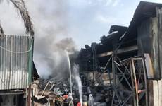 Vụ cháy ở Long Biên: Chưa ghi nhận người dân nào bị ảnh hưởng sức khỏe