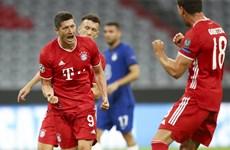 Bayern Munich vào tứ kết bằng chiến thắng chung cuộc 7-1