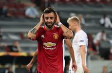 Bruno ghi bàn từ chấm 11m, M.U thẳng tiến bán kết Europa League