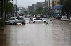 Hàn Quốc trải qua đợt mưa dài nhất trong lịch sử kể từ năm 2013