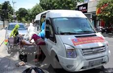 Dịch COVID-19: Những chuyến xe nghĩa tình đưa người bệnh về nhà