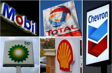 Năm công ty năng lượng lớn nhất thế giới đồng loạt cắt giảm sản lượng