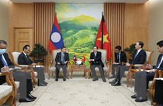 Kết nối toàn diện MTTQ Việt Nam và Mặt trận Lào xây dựng đất nước