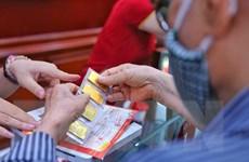 Giá vàng quay đầu giảm, giao dịch dưới ngưỡng 57 triệu đồng mỗi lượng