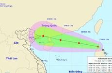 Áp thấp nhiệt đới gần Biển Đông có khả năng mạnh lên thành bão