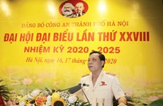 Thiếu tướng Nguyễn Hải Trung giữ chức Bí thư Đảng ủy Công an TP Hà Nội
