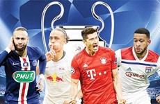 Lịch trực tiếp: Đại chiến Pháp-Đức ở bán kết Champions League
