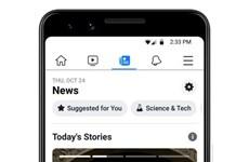 Facebook đẩy nhanh kế hoạch đưa tính năng 'News' ra nước ngoài