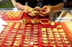 Giá vàng châu Á lên mức cao nhất gần hai tuần qua phiên 31/8