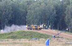 Đội xe tăng Việt Nam tạm đứng thứ hai ở bán kết Army Games 2020