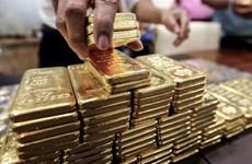 Giá vàng châu Á giảm xuống gần mức thấp nhất một tuần phiên 3/9