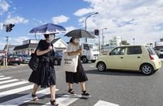 Nhật Bản ghi nhận mức nhiệt cao kỷ lục trên 40 độ C trong tháng 9