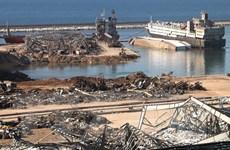 Liban: Còn nhiều chất nổ được lưu trữ tại cảng Beirut