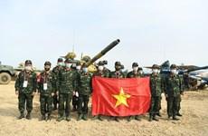 Video đội Việt Nam vô địch bảng 2 Tank Biathlon tại Army Games 2020