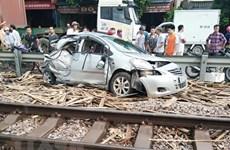 Nâng cấp, cải tạo đường ngang để giảm thiểu tai nạn đường sắt