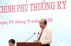 Họp báo Chính phủ: Phát triển kinh tế trên nền tảng an toàn dịch